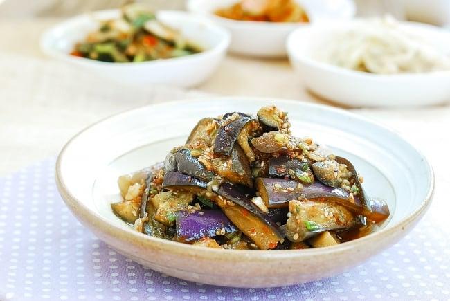 DSC 0092 3 e1562298528317 - Gaji Namul (Steamed Eggplant Side Dish)