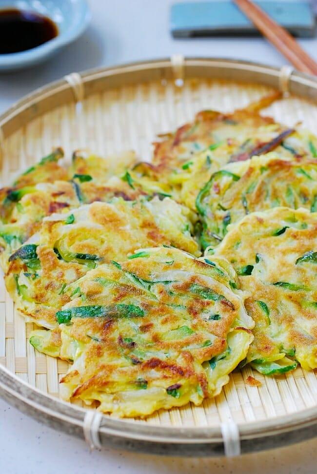 DSC 0237 e1534910363348 - Hobak Buchim (Zucchini Pancakes)