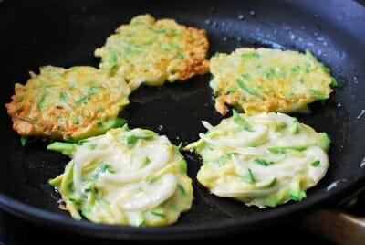 Hobak Buchim (Korean Zucchini Pancakes) - Korean Bapsang  Hobak Buchim (K...