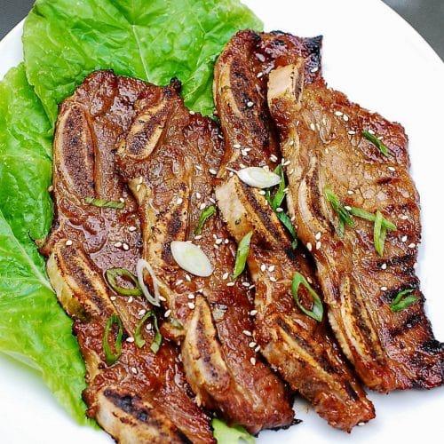 DSC 1834 2 e1621708513352 500x500 - LA Galbi (Korean BBQ Short Ribs)