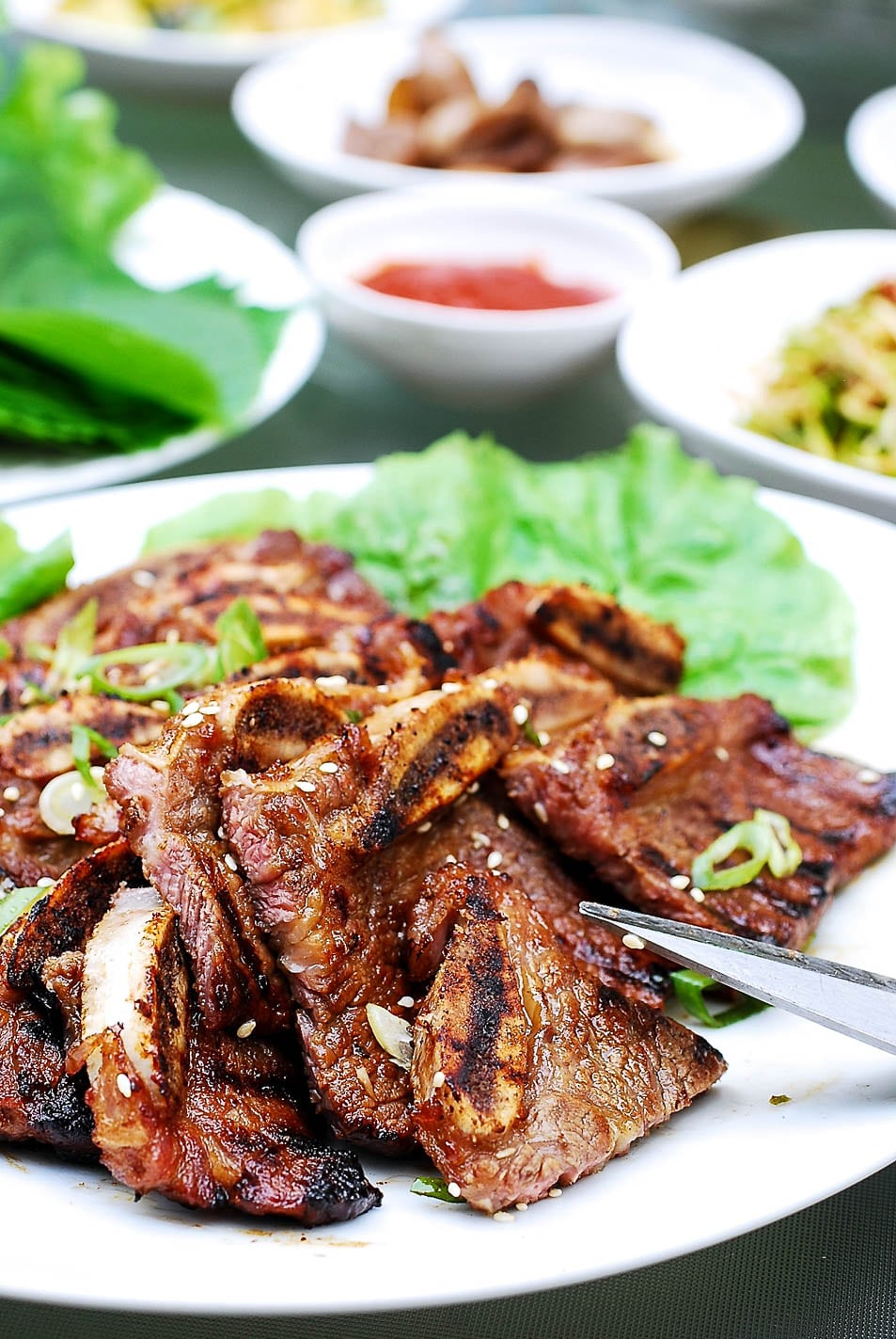 DSC 1852 3 - LA Galbi (Korean BBQ Short Ribs)