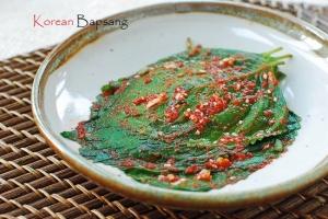 perilla leaf kimchi recipe