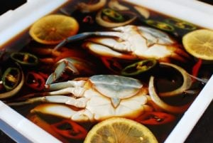 Soy marinated raw crabs recipe