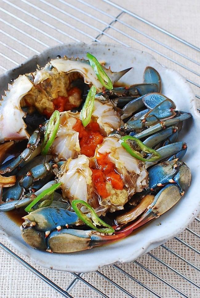 Gejang recipe (Soy marinated raw crabs)