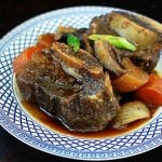 Slow Cooker Galbijjim (Korean Braised Short Ribs)