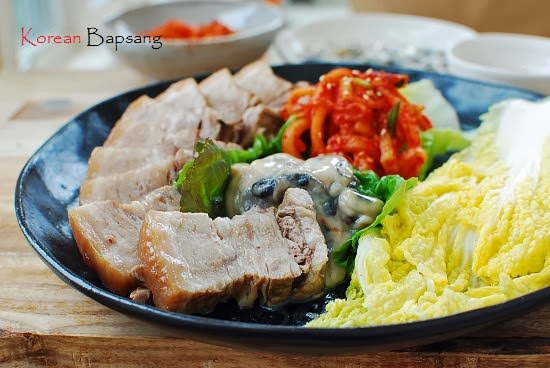 Bossam boiled pork wraps korean bapsang forumfinder Gallery