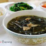 Miyeok Guk (Beef Seaweed Soup)