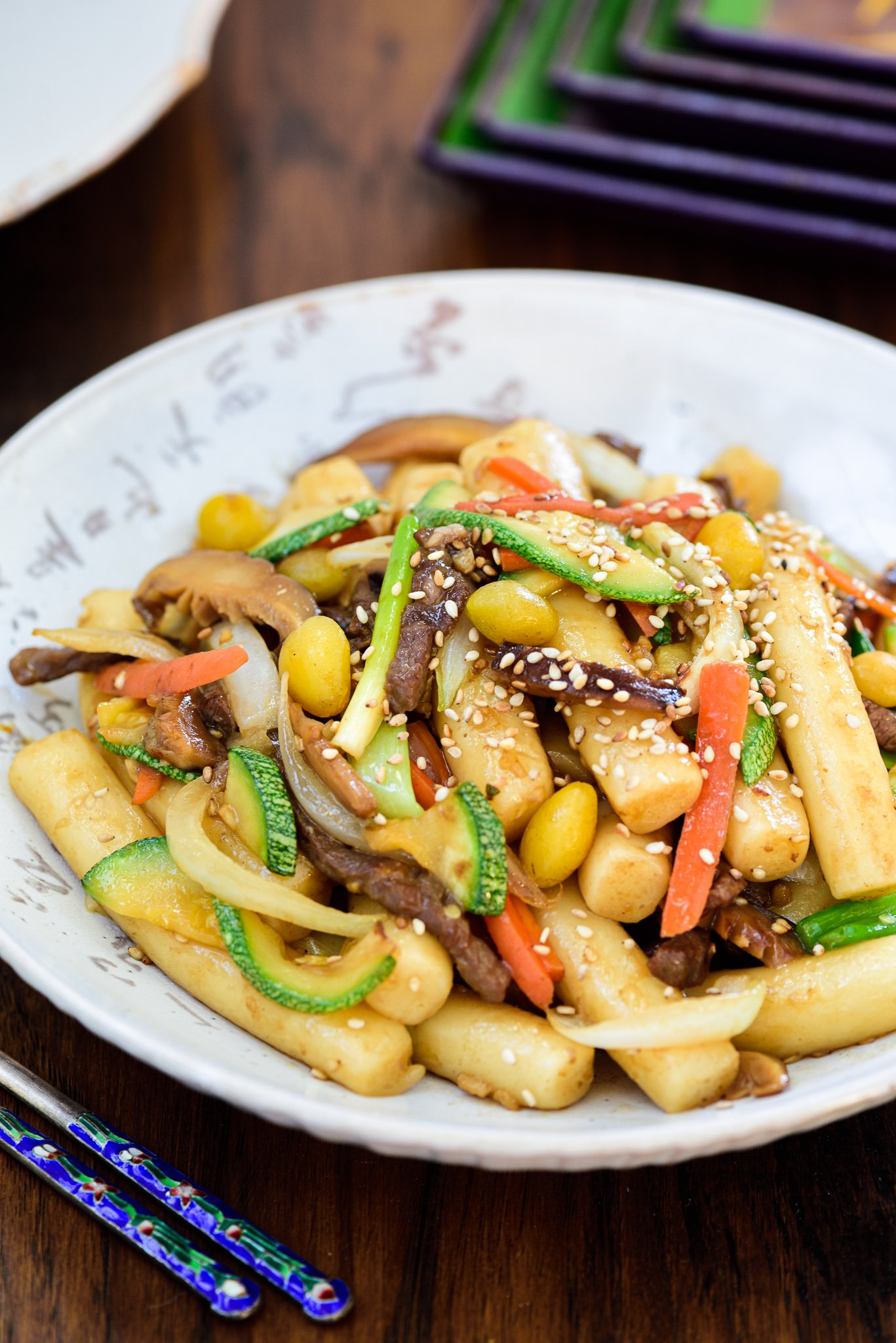 Gungjung Tteokbokki Korean Royal Rice Cake Korean Bapsang