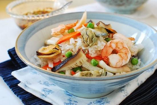 Haemul Bap (Seafood Rice Bowl)