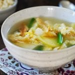 bukeoguk recipe 150x150 - Tteokguk (Korean Rice Cake Soup)