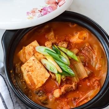 DSC5897 2 350x350 - Kimchi Jjigae (Kimchi Stew)