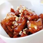 Dakgangjeong (Sweet Crispy Chicken)