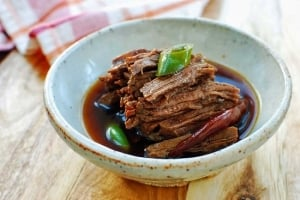 Jangjorim recipe 300x200 - Jangjorim (Soy Braised Beef)