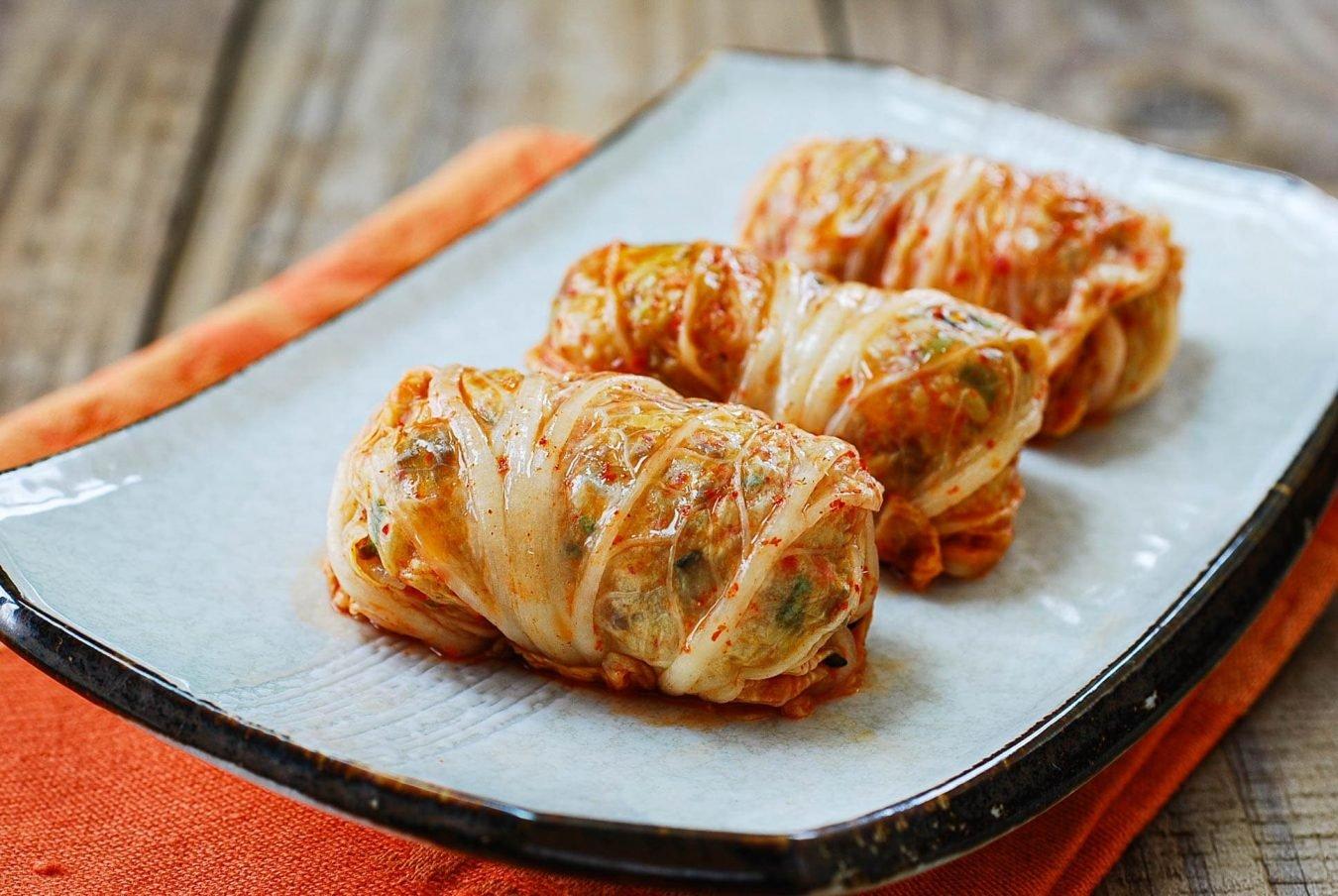 DSC 0016 e1617929651924 - Kimchi Ssambap (Rice Rolls)