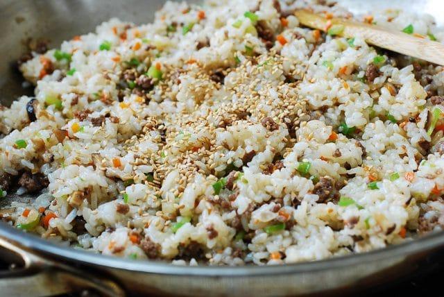 DSC 5432 640x428 - Kimchi Ssambap (Rice Rolls)