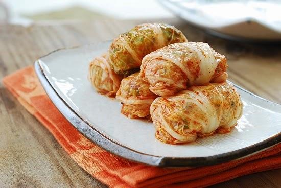 Kimchi Ssambap recipe 9 - Kimchi Ssambap (Kimchi Wrapped Rice Rolls)