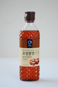 Rice syrup (조청 쌀엿)