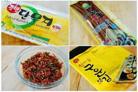 Myulchu gimbap recipe 5 - Myulchu Gimbap