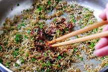 Myulchu gimbap recipe 7 - Myulchu Gimbap