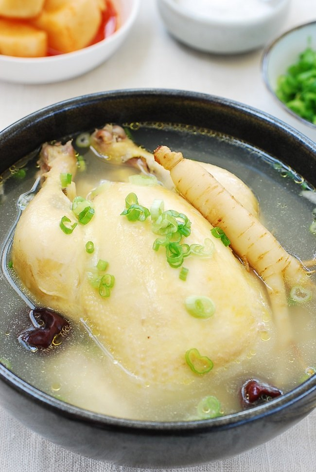 Samgyetang recipe 1