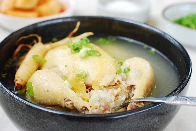 Samgyetang recipe 2