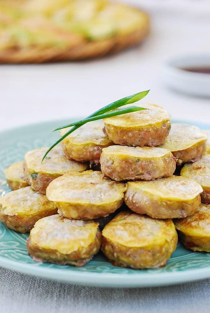 DSC 0212 - Wanjajeon (Pan-fried Meatballs in Egg Batter)