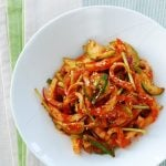 Ojingeo muchim 3 150x150 - Oi Muchim (Spicy Cucumber  Salad)