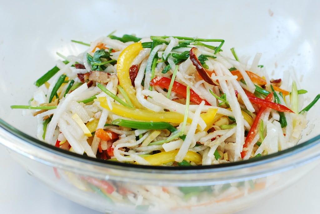 DSC 0122 1024x685 - Baek Kimchi (White Kimchi)