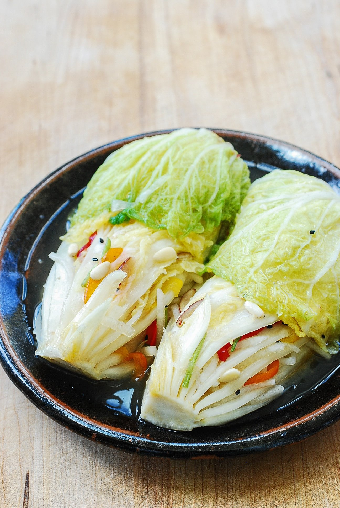 DSC 2905 1 - Baek Kimchi (White Kimchi)