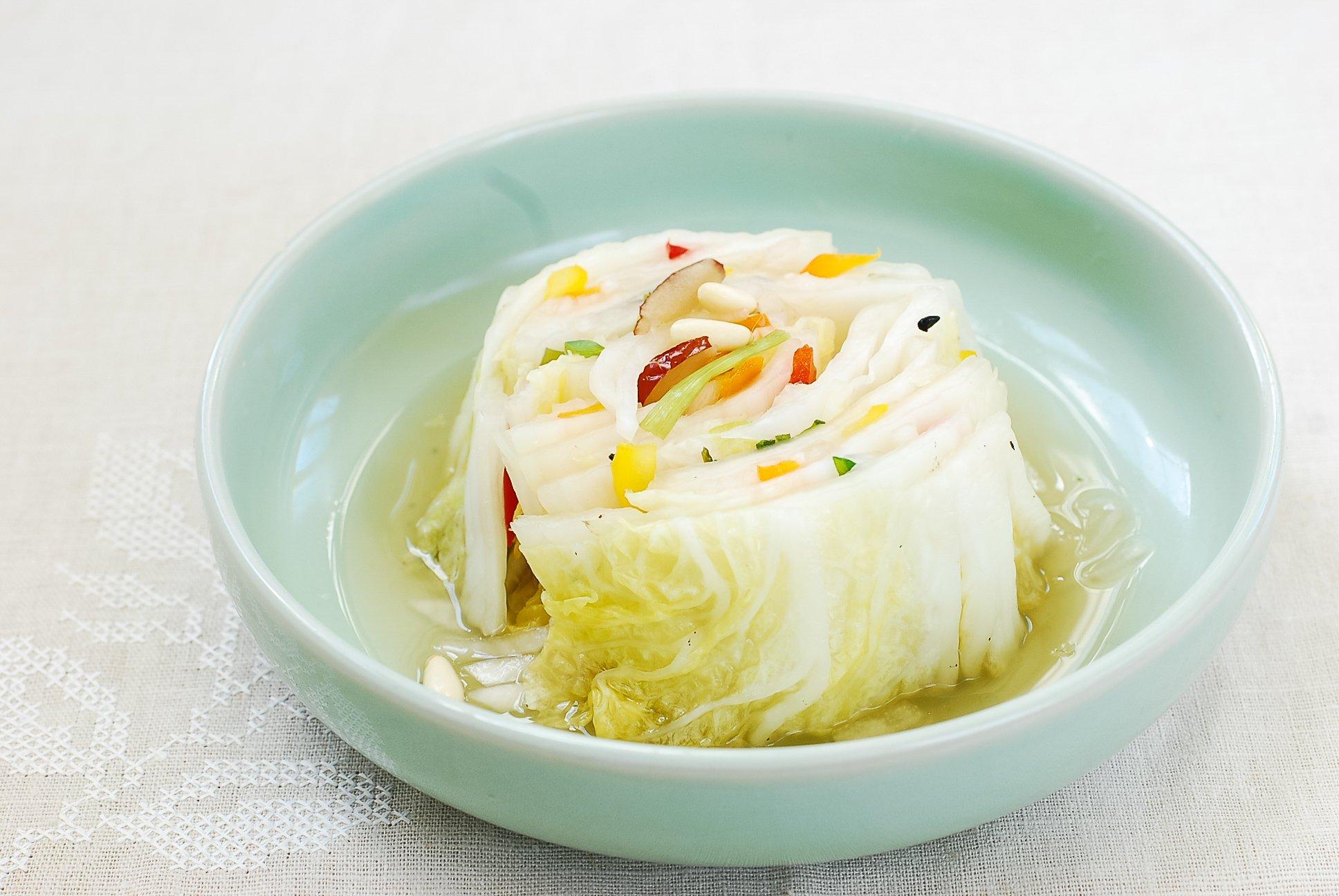 DSC 2956 1 - Baek Kimchi (White Kimchi)