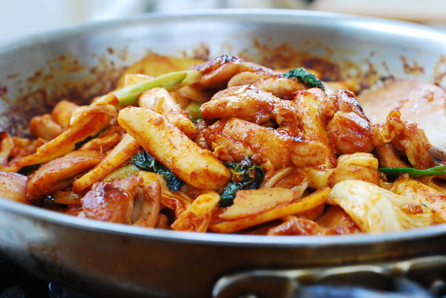 Dak galbi recipe
