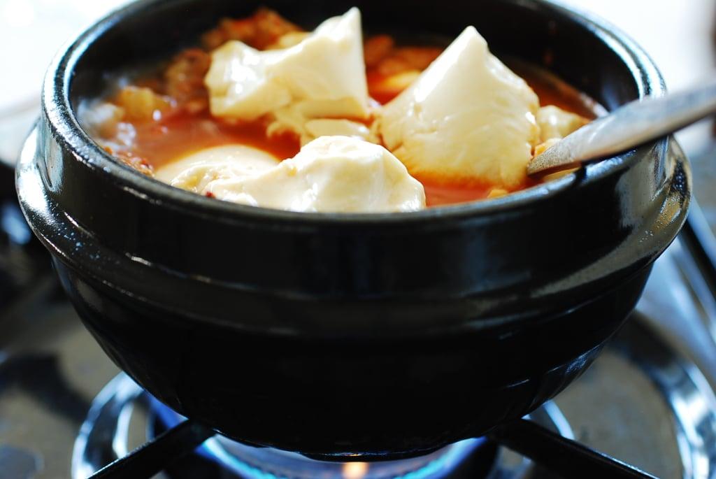 DSC 0574 1024x685 - Kimchi Soondubu Jjigae (Soft Tofu Stew)
