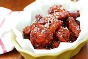 DSC 08611 e1422815370113 300x200 - Yangnyeom Chicken (Spicy Korean Fried Chicken)