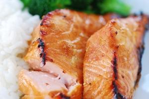 Salmon bulgogi