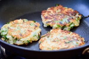 Korean potato pancakes