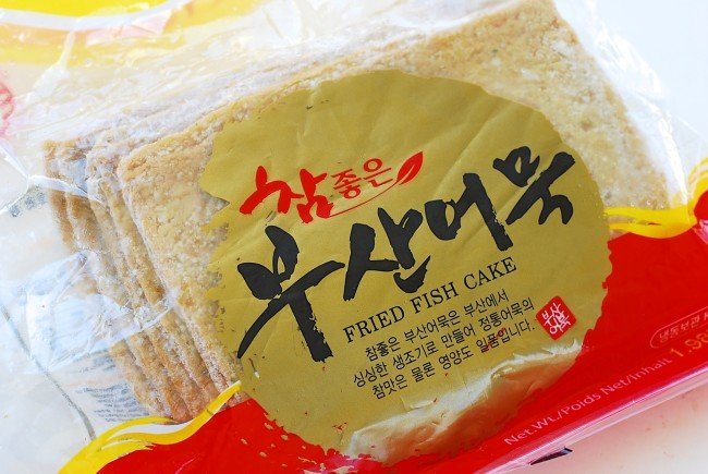 Korean fish cake