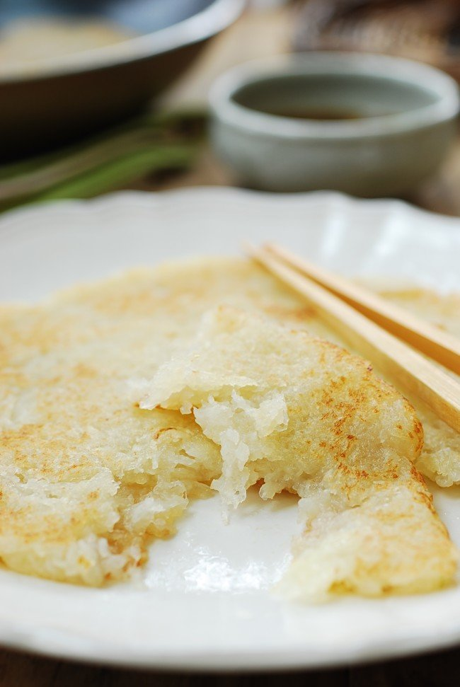 Korean potato pancake