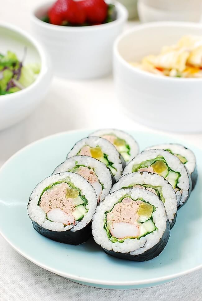 Tuna Gimbap Korean Bapsang