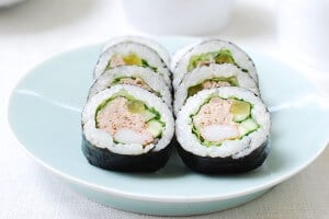 Tuna gimbap recipe