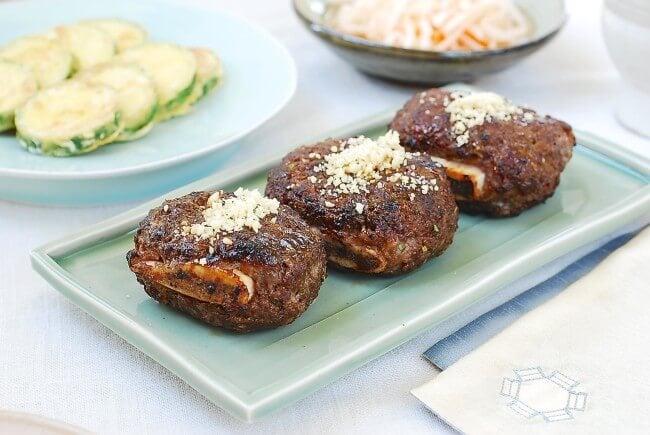 Korean short rib patties