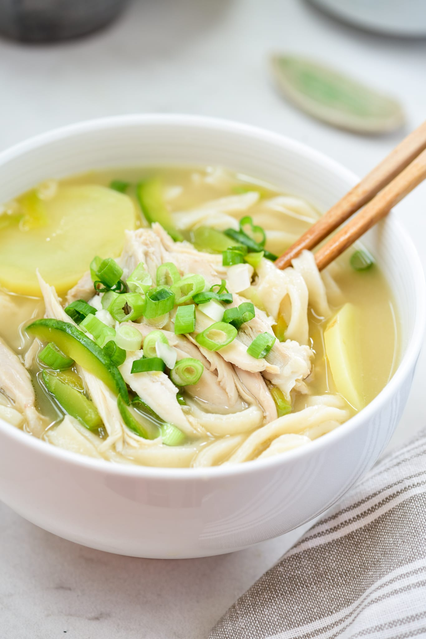 DSC2876 - Dak Kalguksu (Chicken Noodle Soup)
