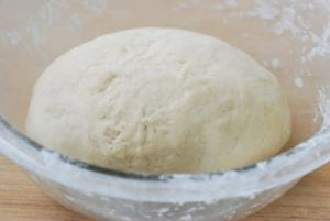 Dough for homemade noodles
