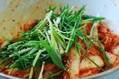DSC 0927 e1433217854143 - Baechu Geotjeori (Fresh Kimchi)