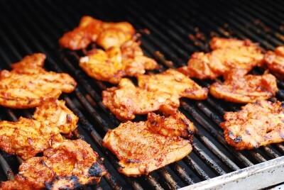 Korean grilled spicy chicken