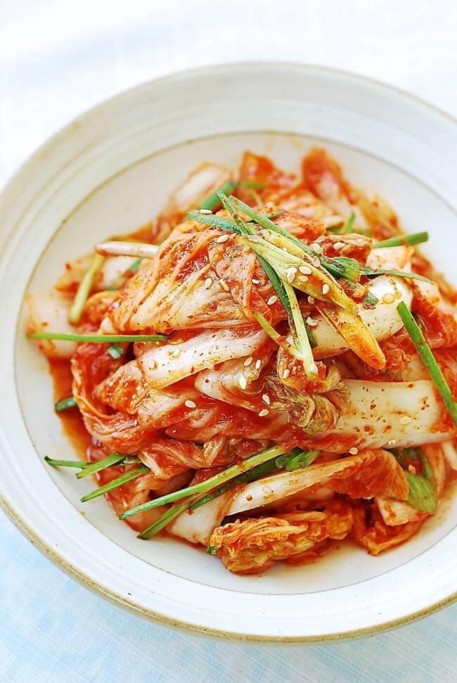 DSC 09491 e1433218997811 - Baechu Geotjeori (Fresh Kimchi)