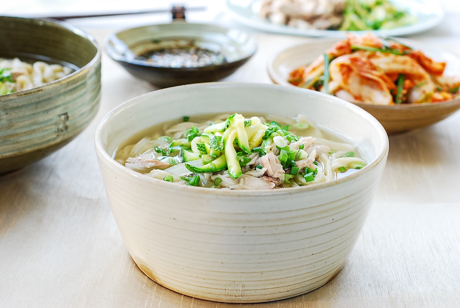 DSC 0963 1 - Dak Kalguksu (Chicken Noodle Soup)