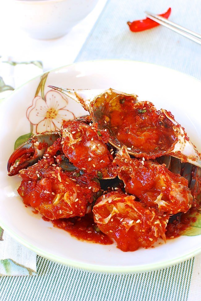 DSC 09481 e1438002007759 - Yangnyeom Gejang (Spicy Raw Crabs)