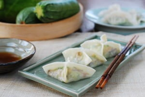 Korean Temple Food and Hobak Mandu