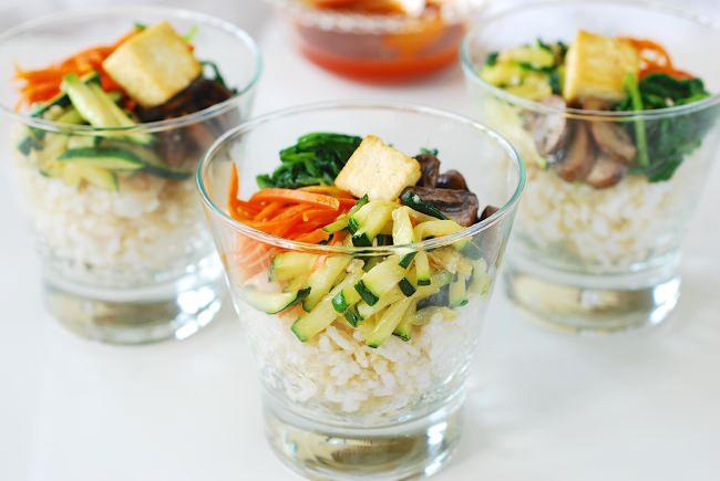 DSC 0931 e1443927060785 - Tofu Bibimbap (Vegan Bibimbap)