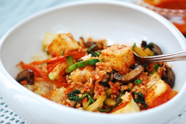 Tofu Bibiambap